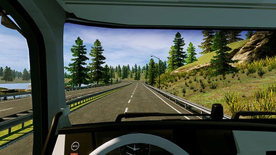 Truck Driver wants to be a truck sim without quite so much sim