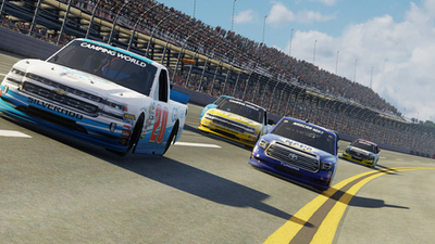 NASCAR Heat 3 deals the dirt to consoles this fall