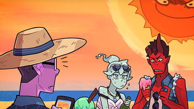 "Punch the sun in Monster Prom's new ""F*ckin' Hot"" update"