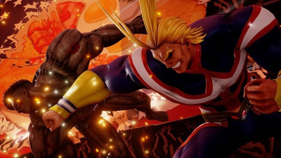 Jump Force Roster Adds All Might from My Hero Academia