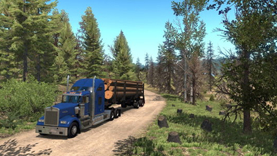 American Truck Simulator's Oregon is looking lovely