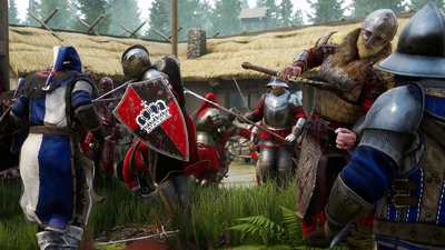 Mordhau players bust through map, reach character select screen