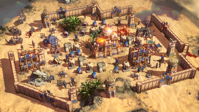 "Petroglyph shows off ""survival RTS"" Conan Unconquered in new video"