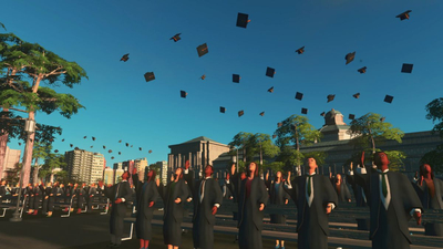 Cities: Skylines' Campus expansion sends it back to school