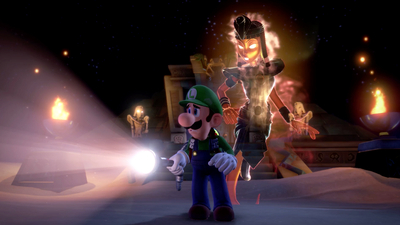 Luigi's Mansion 3 Guide: 10F Tomb Suites Walkthrough - IGN