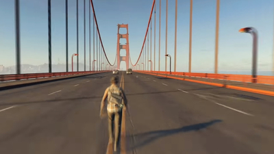 Timelapse of a Watch Dogs 2 player walking across the entire map is strangely mesmerising