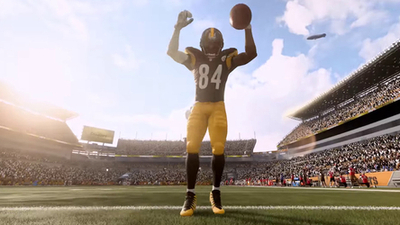Steelers' Antonio Brown is Madden NFL 19's cover star