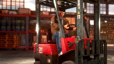 Shenmue 3 confirms the return of forklifts