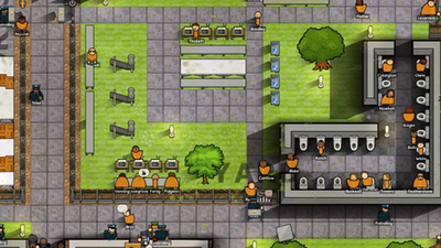 Inmates can escape over walls using ropes made of uniforms in latest Prison Architect update | PC Gamer