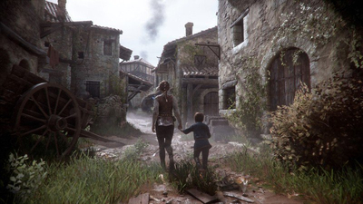 A Plague Tale: Innocence runs at 4K resolution on Xbox One X