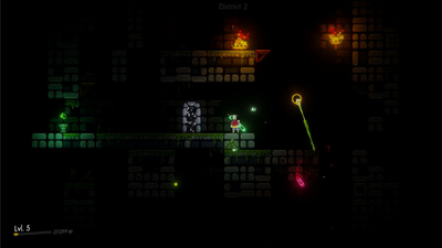 Himno is a free, relaxing platformer in which you can't die