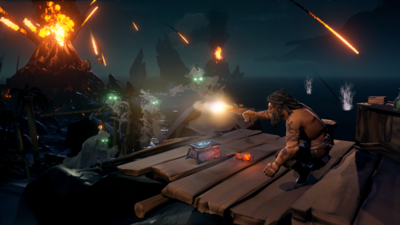 Monthly Sea Of Thieves Updates Will Kick Off With Dark Relics