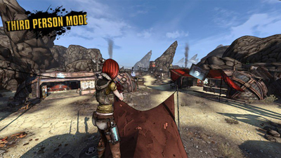 Borderlands: Game of the Year Edition Mod Adds Third-Person Mode
